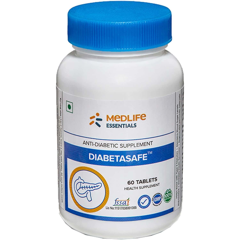 Medlife Essentials Diabetasafe Tablet 60