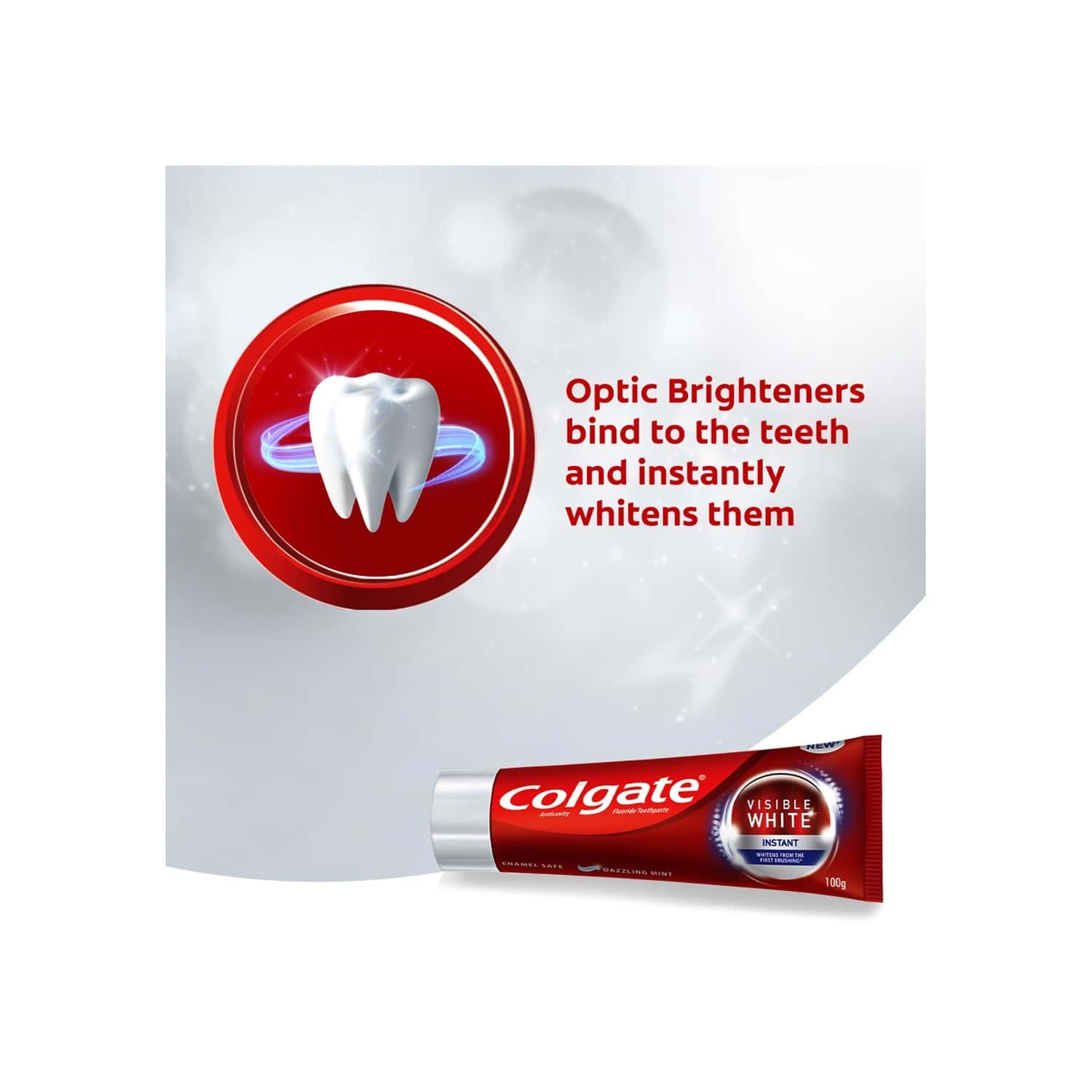 Colgate Visible White Instant Toothpaste - 200gm