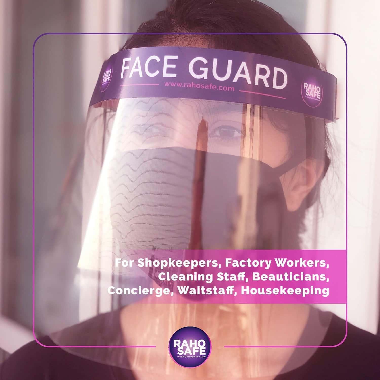 Raho Safe Face Shield Mask Box Of 4