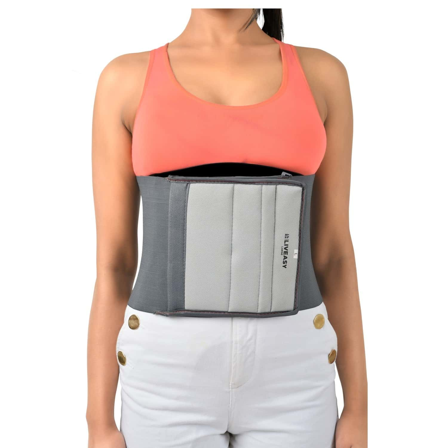 Liveasy Waist Trimmer Grey Color- Small Size