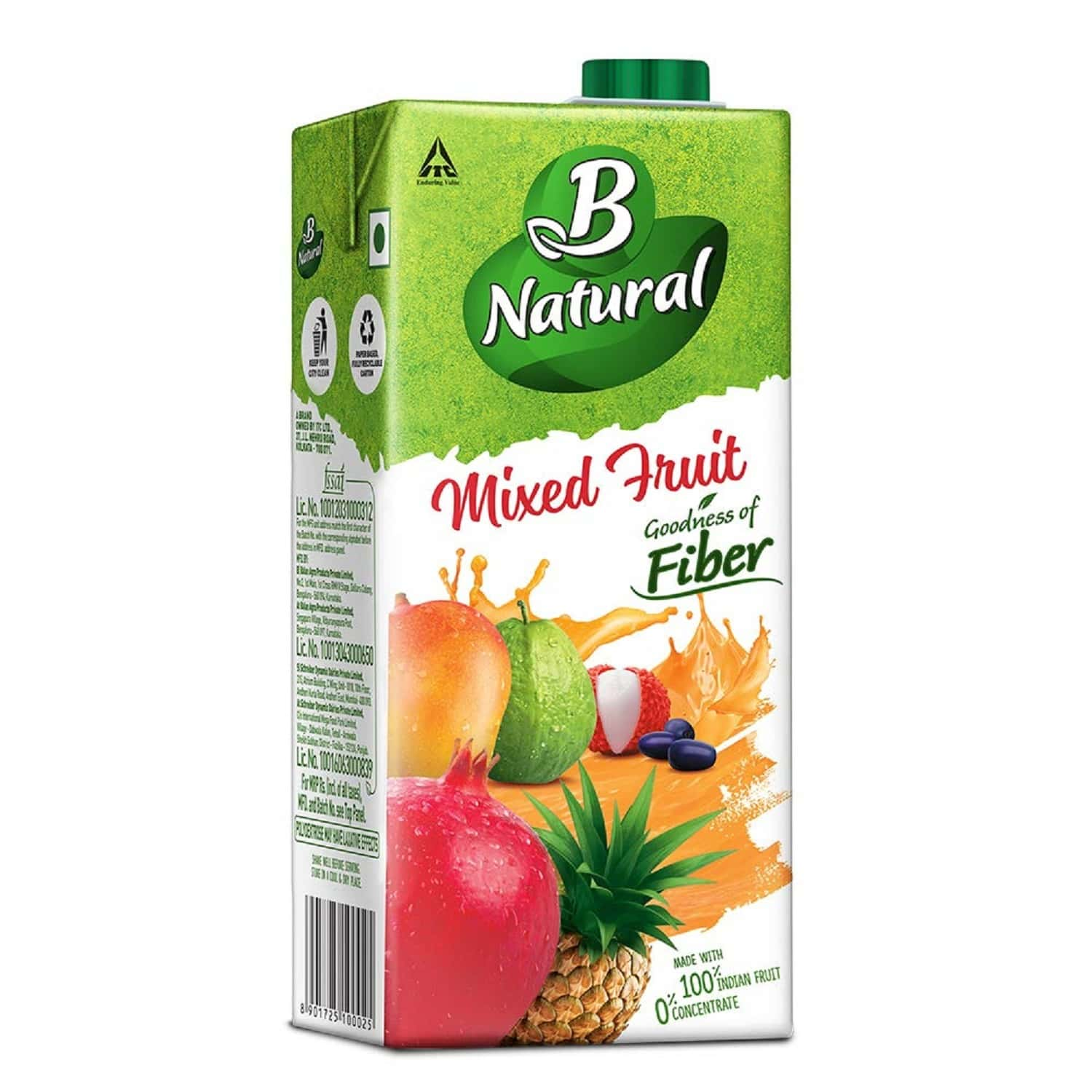 B Natural Mixed Fruit Plus - 1 L
