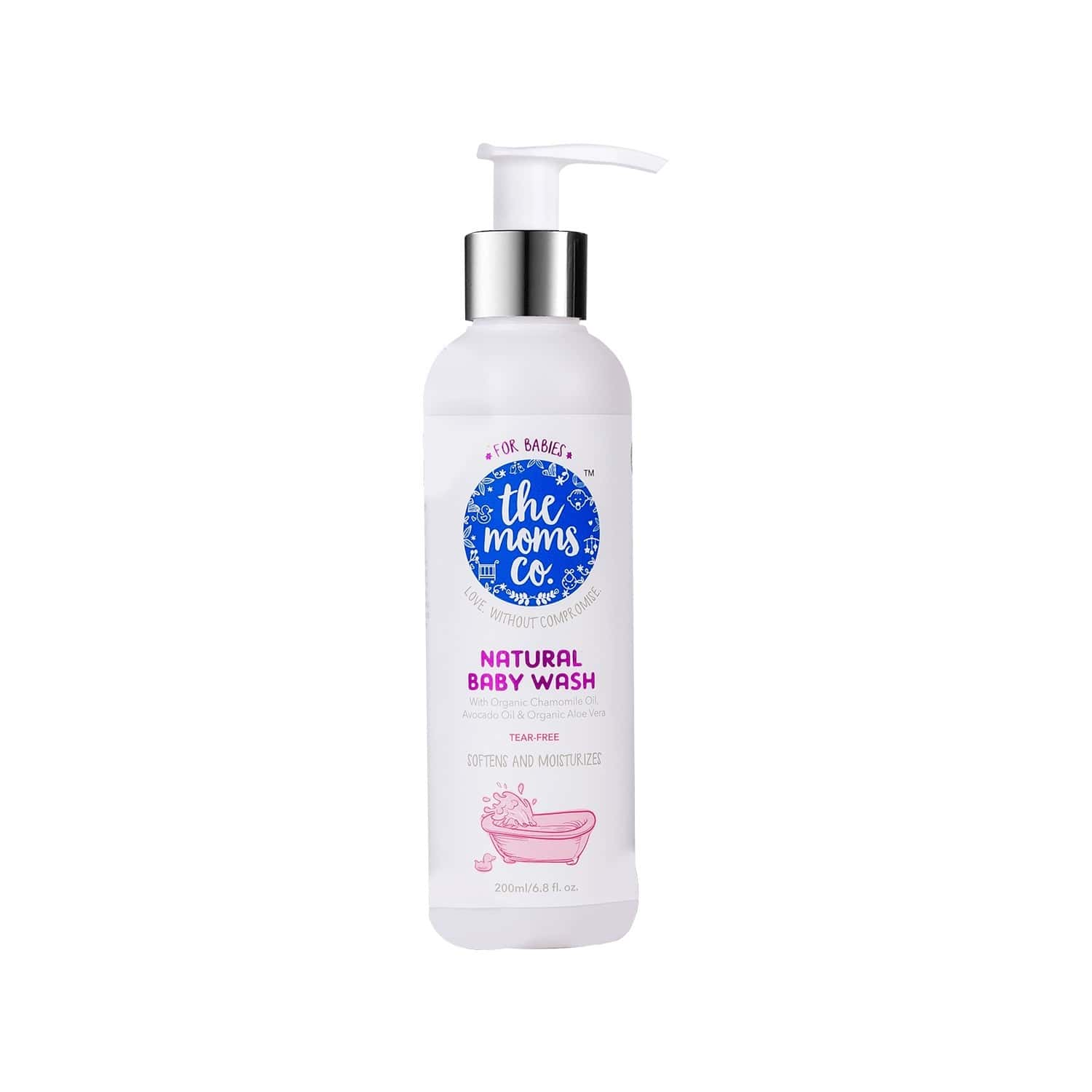The Moms Co. Natural Body Wash Bottle Of 200 Ml