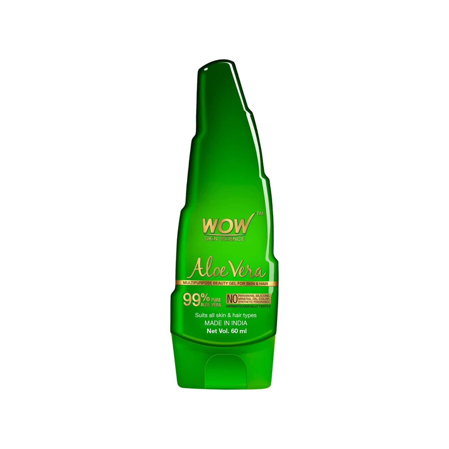 Wow Skin Science Aloe Vera Gel - 60 Ml