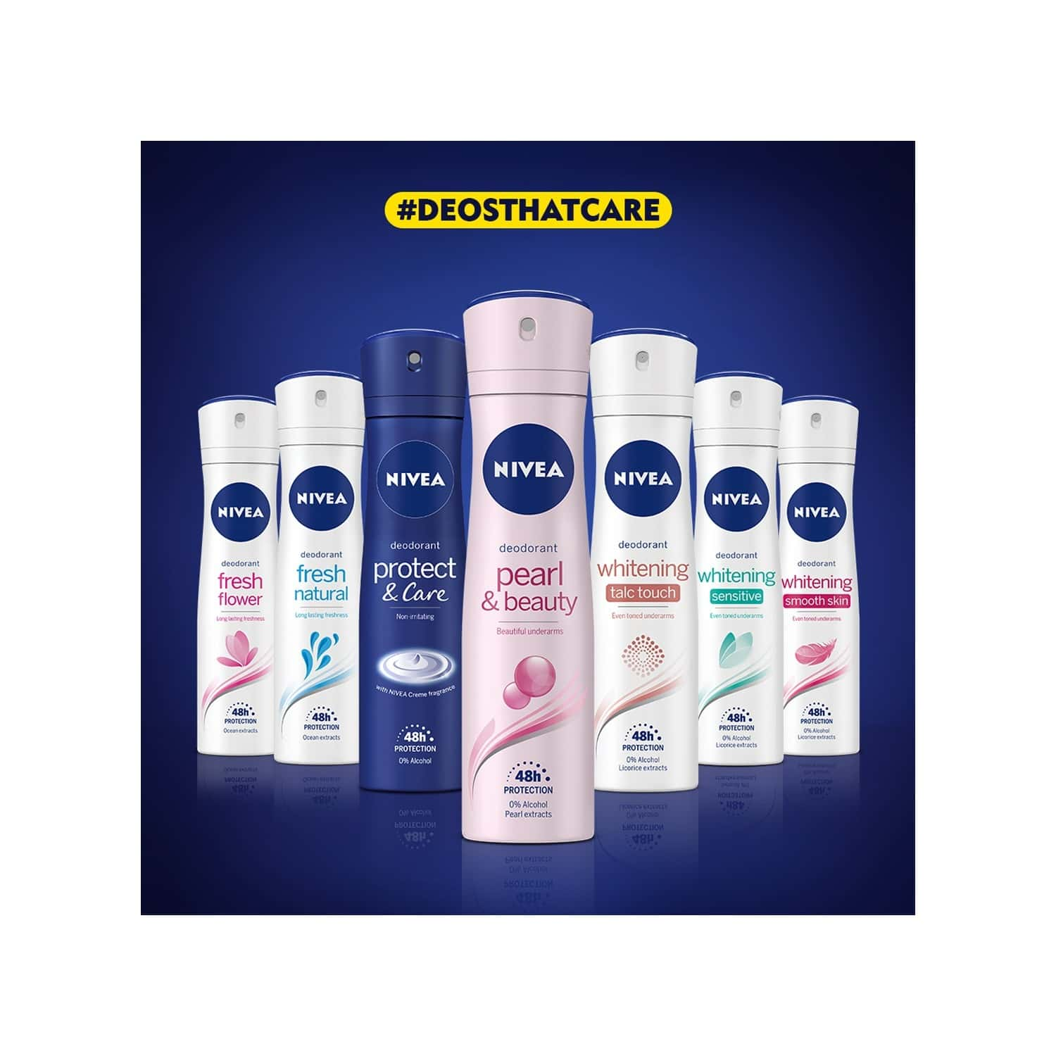 Nivea Deo Fresh Natural Women - 150ml