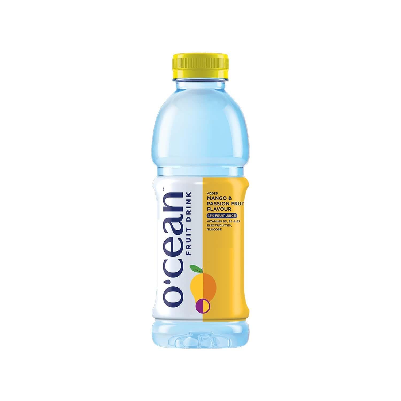 Ocean Mango & Passion Fruit Energy Drink  Bottle Of 500 Ml