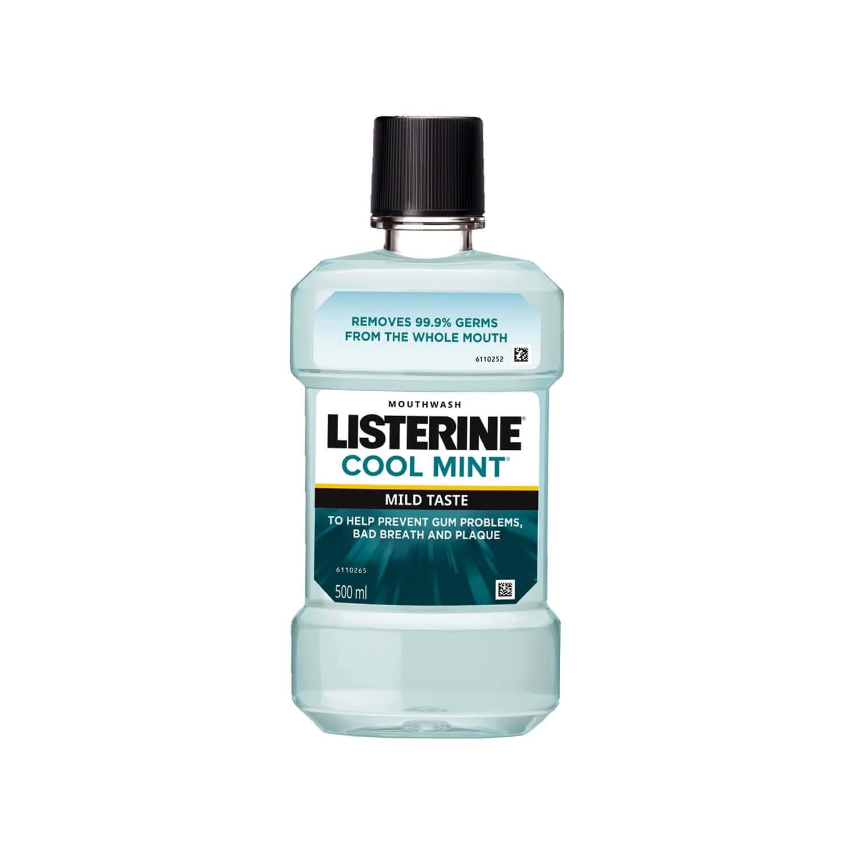 Listerine Mouthwash Coolmint Mild 500ml