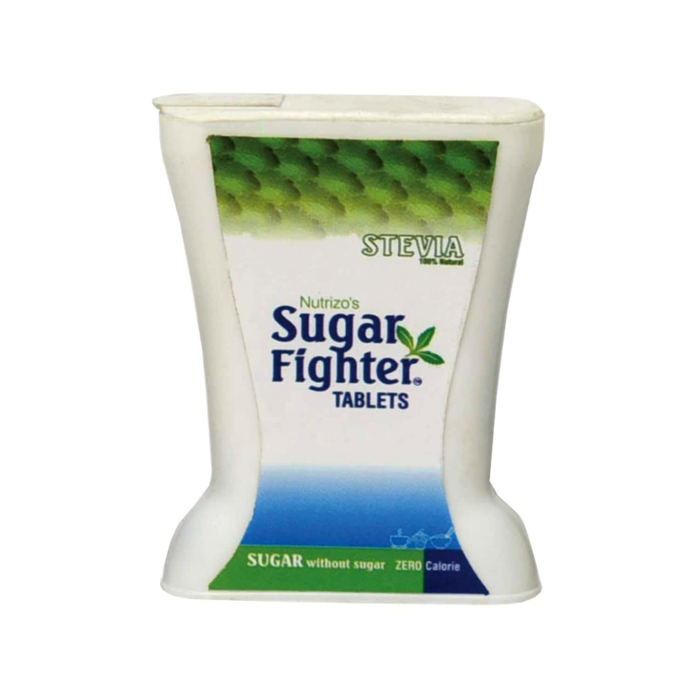 Sugar Fighter Stevia Tablets - Zero Calories & Fat Free Sweetener - Natural Stevia - 200 Tablets