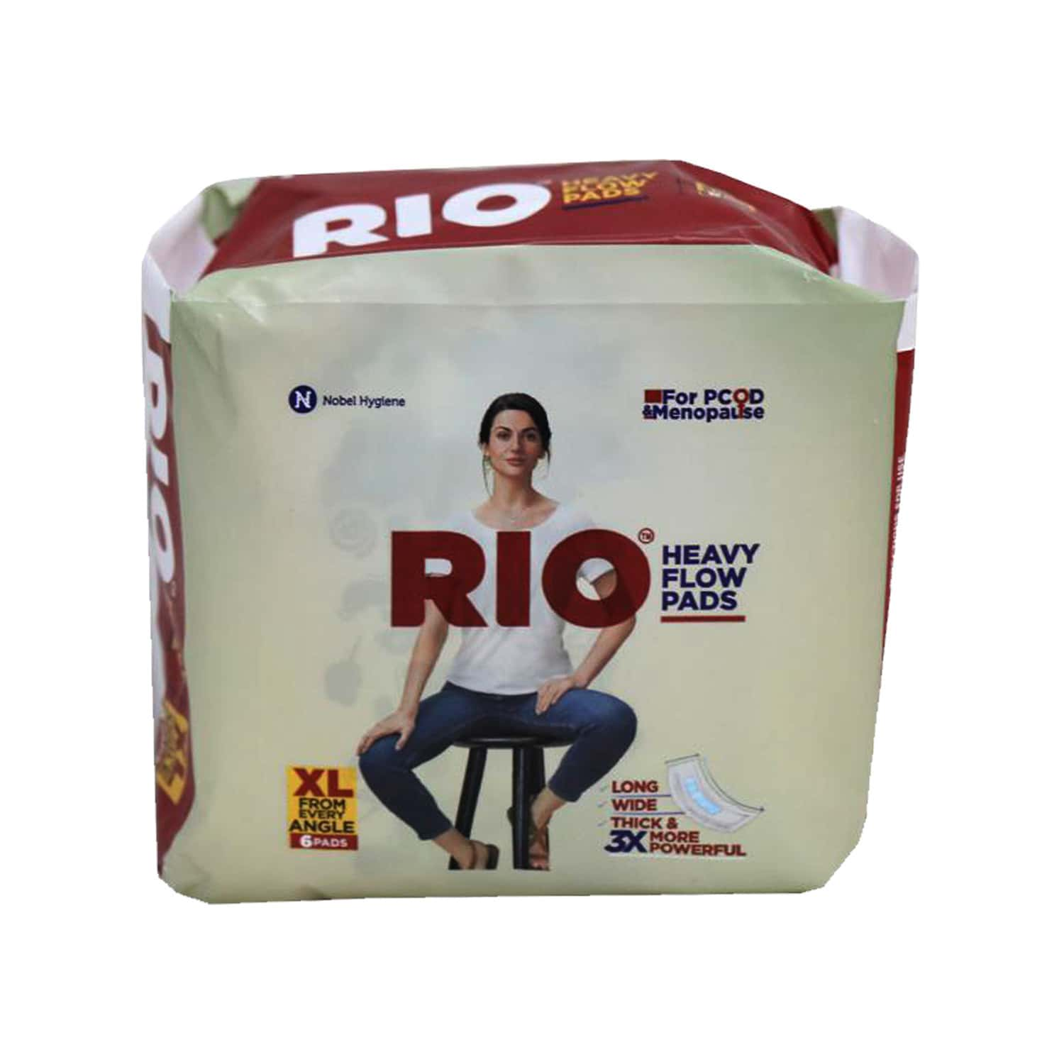 Rio Heavy Flow Pads - Pack Of 6