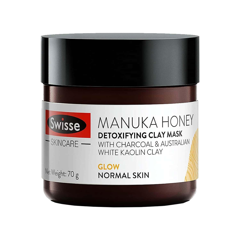 Swisse Manuka Honey Detoxifying Clay Mask  Bottle Of 70 G