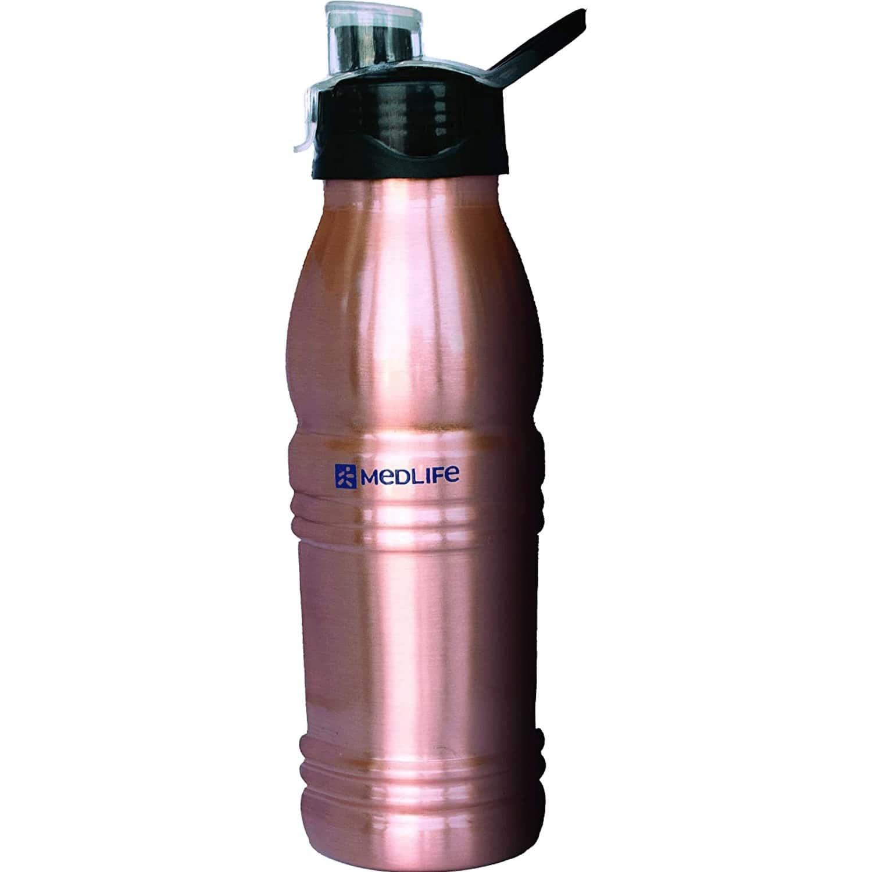 Medlife Sipper Copper Bottle 500 Ml
