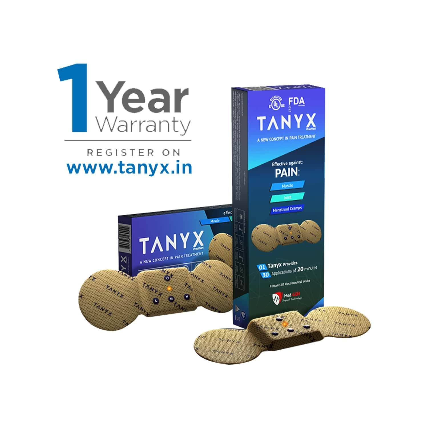 Tanyx Proeffect Pain Relief Device