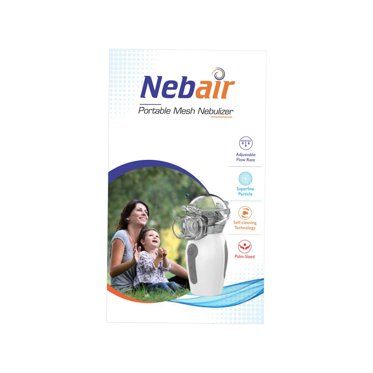 Nebair Variable Frequency  Portable Mesh Nebulizer