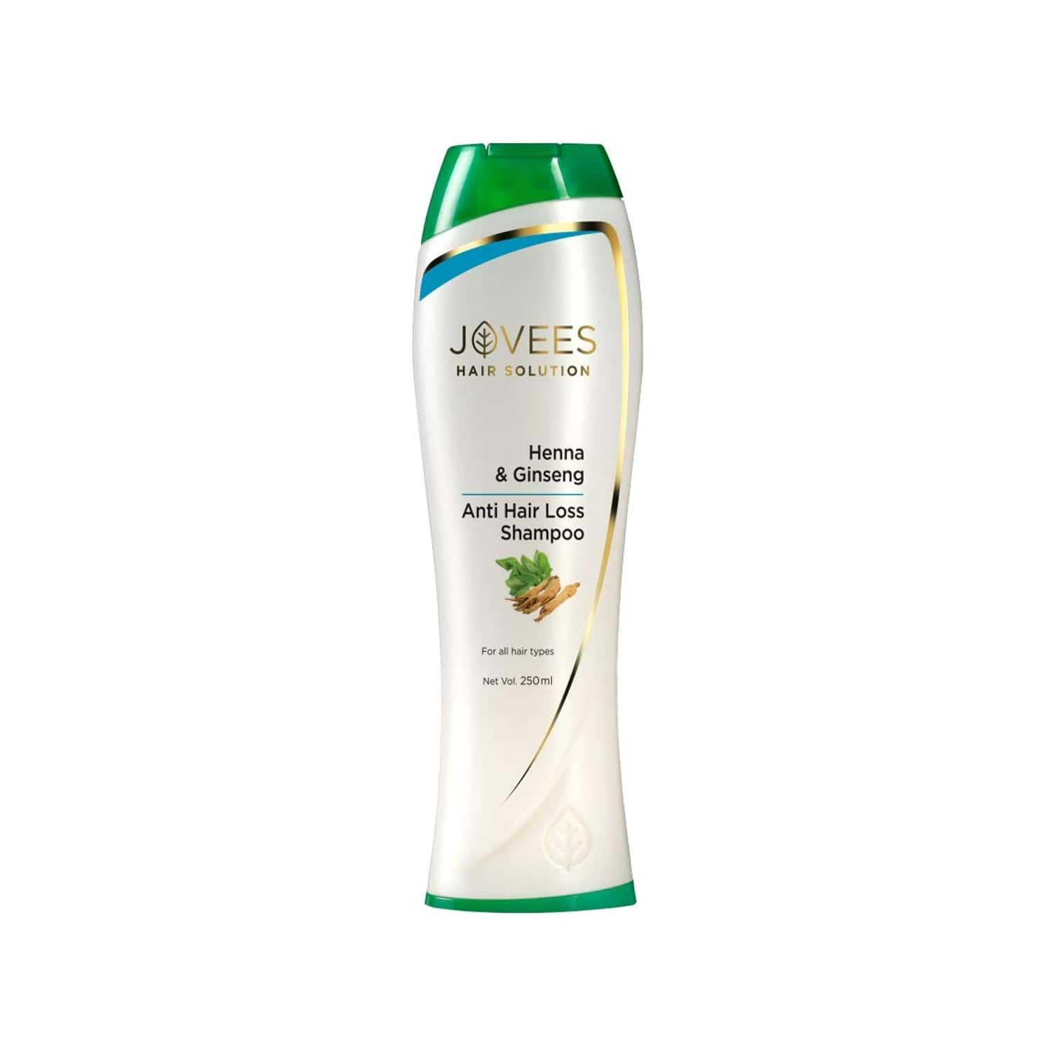 Jovees Henna & Ginseng Anti Hair Loss Shampoo - 250 Ml