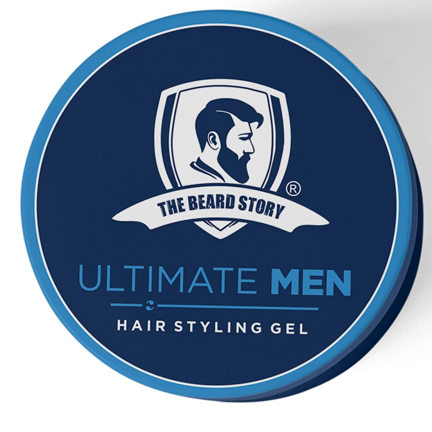 The Beard Story Hair Styling Gel For Strong Hold, Uv Protection ,100 % Shine & Hold - 100 Gm